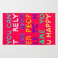 RELY / ABSOLUTELY HAPPY VERSION Rug