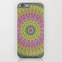mandala iPhone & iPod Cases featuring Mandala by David Zydd