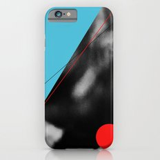 blue and red circle iPhone 6 Slim Case