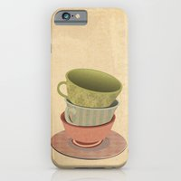 iPhone & iPod Case featuring Each Cup of Tea by David Finley