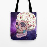 Liberty Skull Tote Bag