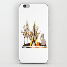 Touched By The Hand Of God iPhone & iPod Skin