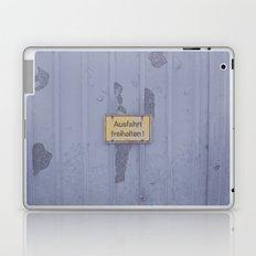 Ausfahrt Laptop & iPad Skin
