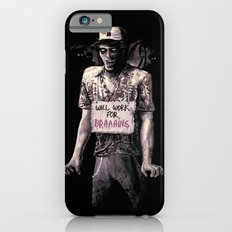 Will Work For Braaains iPhone 6 Slim Case