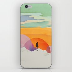 I Like to Watch the Sun Come Up - (White Version) iPhone & iPod Skin