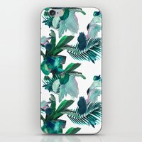 Midnight Iris iPhone & iPod Skin