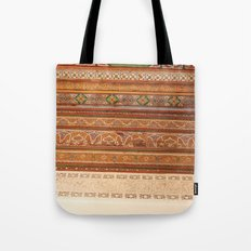 Moroccan Palace Patterns Tote Bag