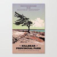 Killbear Provincial Park Canvas Print