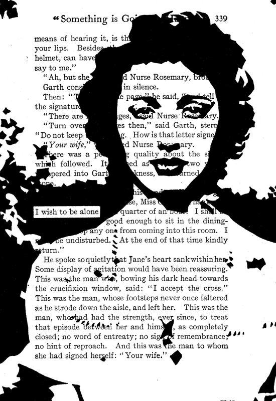 I Wish to be Alone Art Print