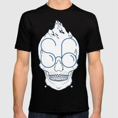 S6 SMALL Mens Fitted Tee Black