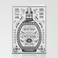 Legend of Zelda Red Chu Potion Advertisement Stationery Cards