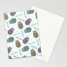 Tweet Twooo Stationery Cards