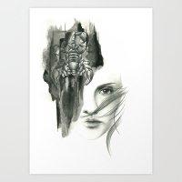 Zodiac - scorpio Art Print