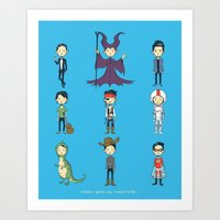 When I grow up, I want to be... Art Print