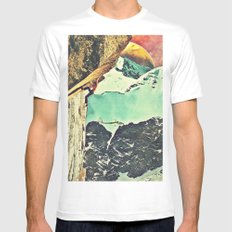 Reach SMALL White Mens Fitted Tee