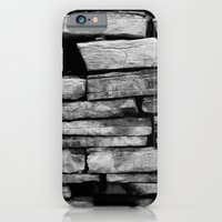 iPhone & iPod Case featuring stone wall by catzzz