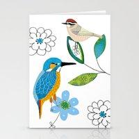 Polish birds Stationery Cards