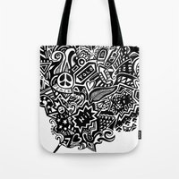 the doodle wand Tote Bag