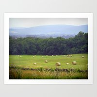 Blue Ridge Mountains Virginia Art Print