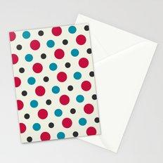 Like a Leaf [spots] Stationery Cards
