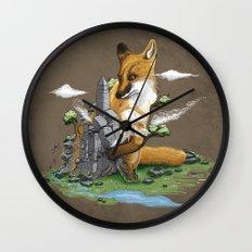 Clean the World II Wall Clock