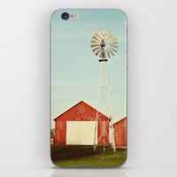 the red barn iPhone & iPod Skin