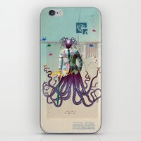 Mr Octapius iPhone & iPod Skin
