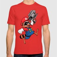 T-shirt featuring Super Rocket by Nikoby
