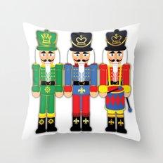 Nutcracker Soldiers Throw Pillow