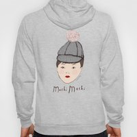 Moshi Moshi - White and Pink Hoody