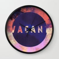 Vacant by Galaxy Eyes & Garima Dhawan Wall Clock