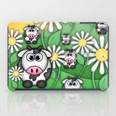 Cows & Daisies  iPad Case