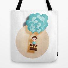 Flotando con mi imaginación Tote Bag