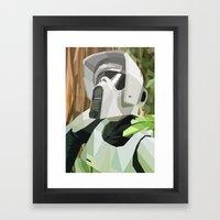 Scout Framed Art Print