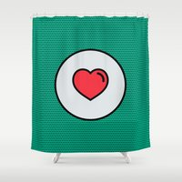 Love Is In The Air! Shower Curtain