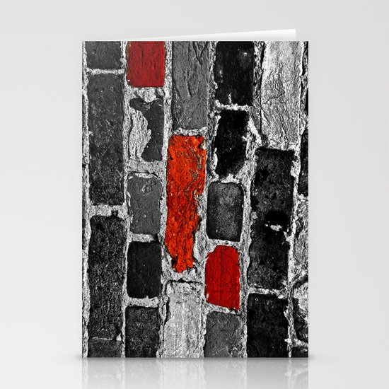 OTHER BRICKS IN THE WALL Stationery Card