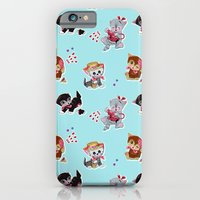 iPhone & iPod Case featuring Zombie Cats by Anion