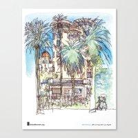 "Shiho Nakaza, ""Castle Green, Pasadena"" Canvas Print"
