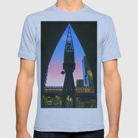 Crane Docklands London Mens Fitted Tee Athletic Blue SMALL