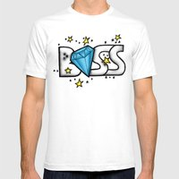 Boss Mens Fitted Tee White SMALL