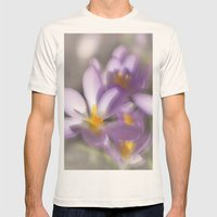 Springtime Dreams Mens Fitted Tee Natural SMALL