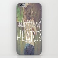 Shattered Hearts Club iPhone & iPod Skin