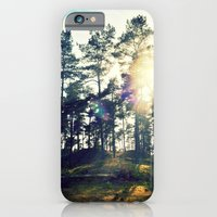 iPhone & iPod Case featuring Sunset Veluwe by Molzography
