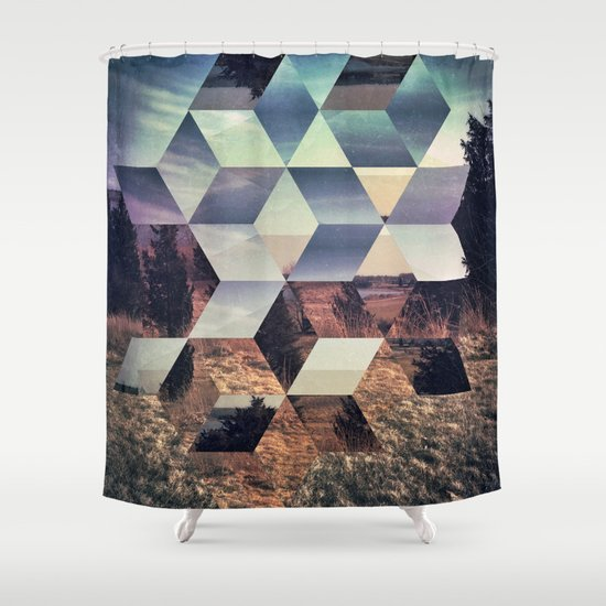 syylvya rrkk Shower Curtain