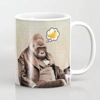 Gorilla My Dreams Mug