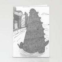 Godzilla Stationery Cards