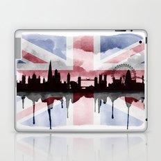 Great British Flag London Skyline 2 Laptop & iPad Skin