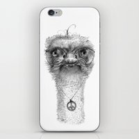Hippie Ostrich G098 iPhone & iPod Skin