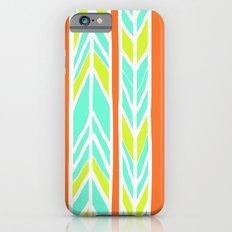 Stripes: Orange, Yellow, Blue iPhone 6 Slim Case