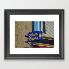 Ottawa Tavern on Adams Framed Art Print
